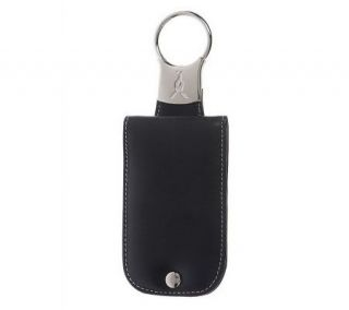 Keygaroo Leather Twist & Pull Key Ring Pouch w/Gift Bag —