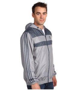 Adidas Originals Mens 2XL Cool Breeze Windbreaker Track Top Jacket