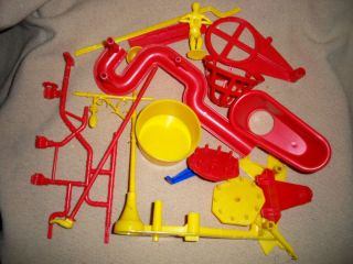 Mouse Trap Game Pieces Parts Vintage 1963 Parts by Ideal Toy