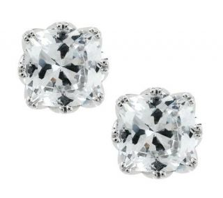 Tacori IV Diamonique Epiphany Bloom Cut 4.30 cttw Cushion Studs