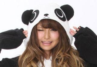 KIGURUMI Animal Panda Bear Halloween Costume Cosplay Fleece