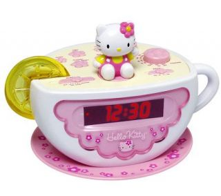 Hello Kitty Digital Clock Radio with AM/FM Radio & Nightlight