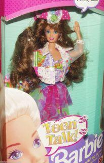 Very RARE Says Math Class Is Tough 1991 Teen Talk Barbie Doll 5745