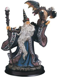 Wizard Magic Fantasy Collectible Figurine Statue Figure GC6