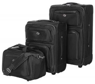American Tourister 3 Piece Nylon Luggage Set —