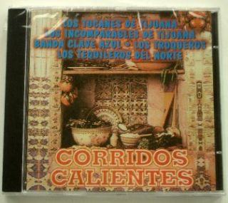New SEALED CD Corridos Calientes Los Troqueros Azul