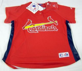 Womens St. Louis Cardinals Cool Base Batting Practice Baseball Jersey