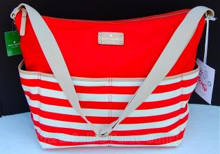 NEW Authentic Kate Spade Collins Avenue Serena Baby Diaper Bag Tote
