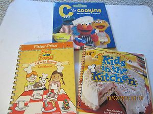 PAMPERED CHEF KIDS C IS FOR COOKING FISHER PRICE Childrens COOK Books
