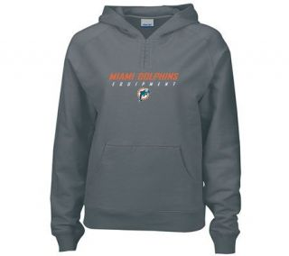 NFL Miami Dolphins Womens Equipment Hoodie —