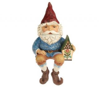 Jim Shore Heartwood Creek Gnome Garden Statue —