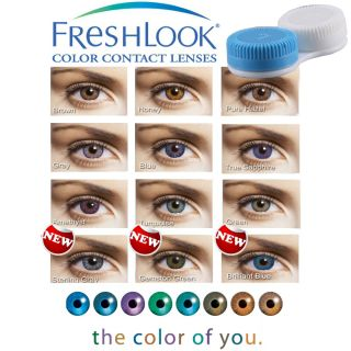 Color Contact Lenses Case Colored Lenses Wearing Case