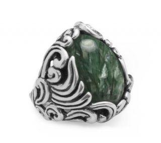 Carolyn Pollack Sterling Serephinite Ring —