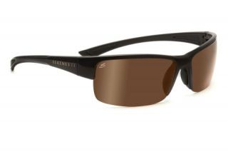 Serengeti Corrente Sunglasses, Shiny Crystal Cognac/Satin Dark Brown