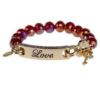 Kirks Folly Message from the Heart Stretch Bracelet   J151743