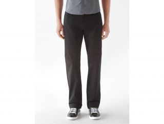 Calvin Klein Mens Bryant Slim Fit Brushed Cotton Pants