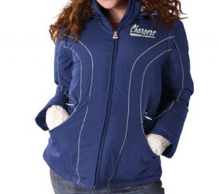 NFL San Diego Chargers Womens Cinched 4 in 1 Jacket   A312045