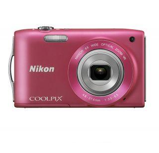 NIKON Coolpix S3300 Digital Camera PINK + NIKON USA WARRANTY
