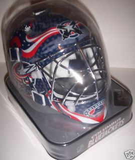 Columbus Blue Jackets Franklin Mini NHL Goalie Mask New
