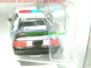 87 FORD MUSTANG FOX BODY WASKOM POLICE COP CAR JOHNNY 2.0 2011 DIECAST