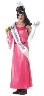 USA Pageant Princess Mens Funny Halloween Costume