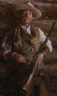 Morgan Weistling Trusted Friends Giclee Canvas NRA Rifle