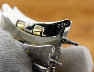 Vintage 14k Solid Gold Combi Jubilee Bracelet Watch Band Datejust