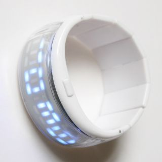 Fashion Jewelry Lady Women Bracelet Bangle Styled LED Digital Wrist