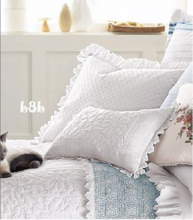 Ralph Lauren Cottage Hill Eyelet 2 King Shams White 1sq