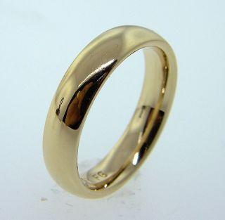 Fine Estate 14k Gold Comfort Fit Wedding Ring Band 5 Grams