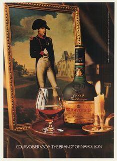 1980 Courvoisier VSOP Cognac Brandy of Napoleon Ad