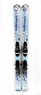 Salomon Amber 500 Skis 130cm with Tyrolia Sympro 8 Bindings N Retail $