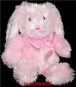 Commonwealth Plush Bunny Rabbit Light Stuffed Animal Lovey Soft