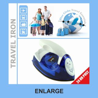 Portable small steam iron clothes steamer travel iron Steam and dry