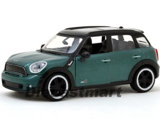 Motormax 1 24 2011 Mini Cooper s Countryman Diecast Model Car Dark