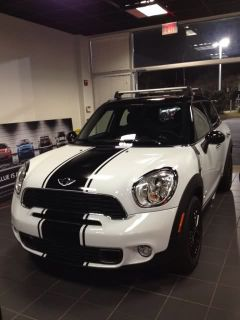 Stripe Stripes Graphics Decals Fits Any Mini Countryman Cooper
