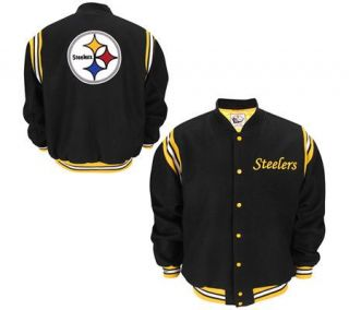 NFL Pittsburgh Steelers Retro Wool Jacket —
