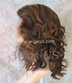 Wavy Skin Top Shoulder Length Black Brown Auburn Blonde Heat OK
