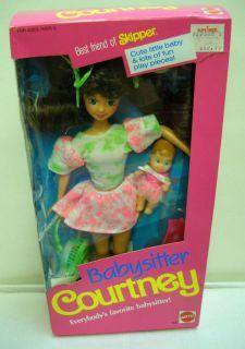 922 Mattel Babysitter Courtney Skipper Barbie