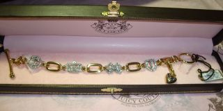 Juicy Couture Luxe Icon and Charm Bracelet