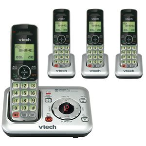 CS6429 4 DECT 6 0 Cordless Phone w 4 Handsets Wall Desk FAST SHIPPING