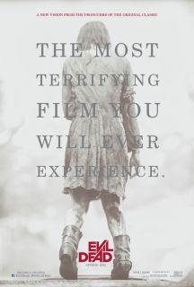 Evil Dead Movie Poster 2 Sided Original Advance Rolled 27x40 Sam Raimi