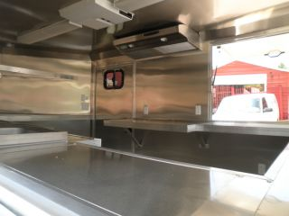 New 8 5 x 12 Concession Food BBQ Smoker Trailer with Serving Windows