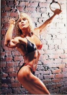 Fitness Model Body Cory Everson Poster 24 x 17 1