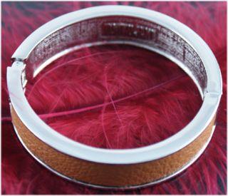 Tokyo Jane Silver & Brown Bracelet in Presentation Gift Box