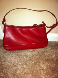 Red Crazy Horse Purse