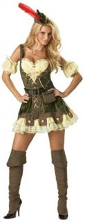 Racey Robin Hood Halloween Costume Elite Incharacter