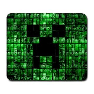 Hot item green minecraft creepers pc games large mousepad