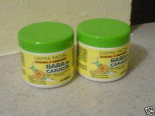 Crema Baba de Caracol Snail Cream X2 Dominican Republic
