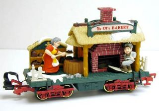 New Bright Holiday Express Bakery Car —